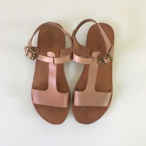Urban Outfitters Leather Flat Sandals